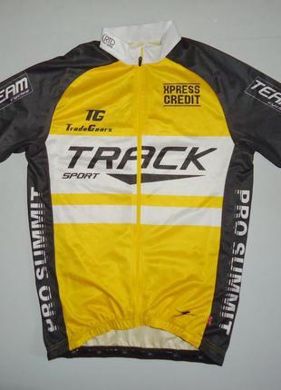 Велоформа велосипедка велофутболка crane track sport m
