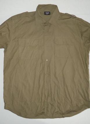 Рубашка милитари mil-tec rip-stop cotton (xl)