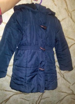 Куртка пальто р.104-110 см