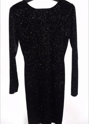 Блестящее платье , люрекс
