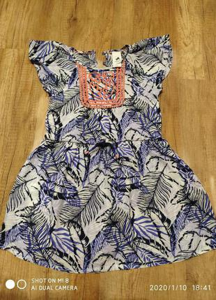 Интересное платье 110 см.