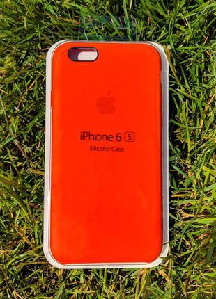 накладка бампер  Iphone 6s Original Soft Touch Cherry