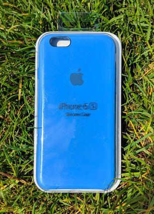 накладка бампер  Iphone 6s Original Soft Touch Tahoe Blue