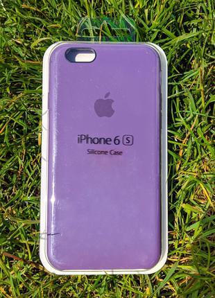 Накладка бампер Iphone 6s Original Soft Touch Plum