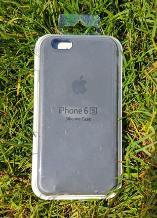 Накладка бампер Iphone 6s Original Soft Touch Graphit
