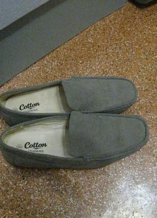Новые мужские туфли мокасины р.42, 28см