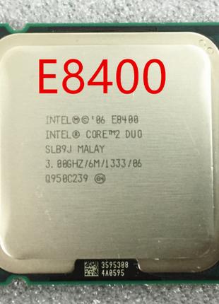 Процессор Core2Duo E8400 3.00GHz/6Mb Cache/1333Bus/Socket 775