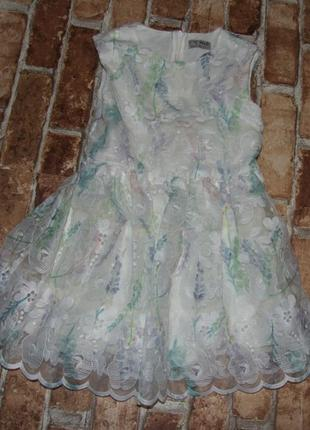 Нарядное пышное платье 5 лет  next