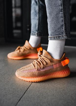 Женские крутые кроссовки adidas yeezy boost 350