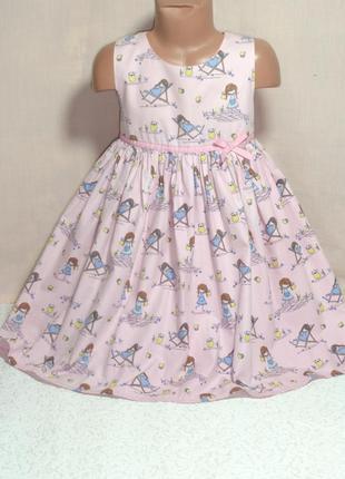 Нарядное платье deb на 5-6 лет