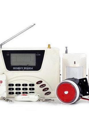 Охранная сигнализация GSM 360 RU 433 Alarm для вашего дома / офис