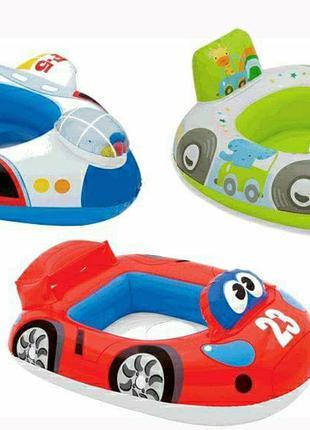 Детский надувной круг для плаванья,плот,матрас,Intex,интекс,На...