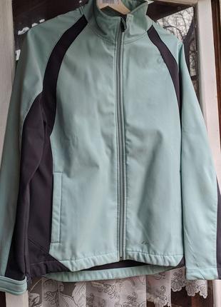 Куртка кофта ветровка софтшелл женская L
