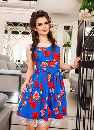 летнее  платье р 42-44
