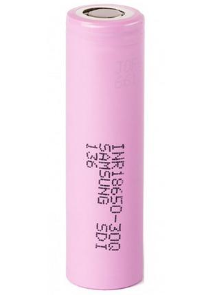 Аккумулятор мощный 18650 Samsung INR18650-30Q 2500mah 3,7V высоко