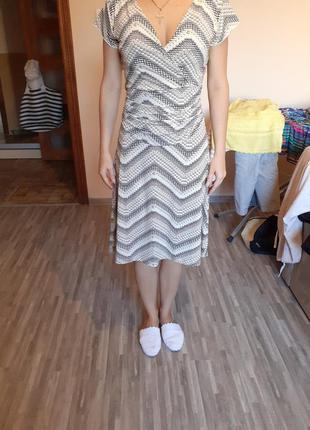 Классное вискозное платье из журнала apart