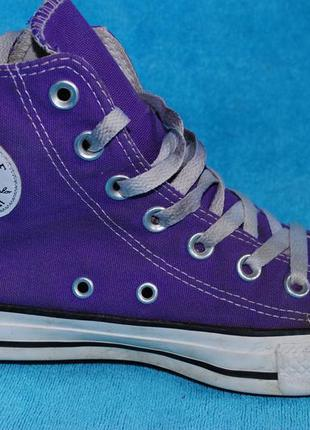 Converse кеды 36 размер на девочку фиолетовые
