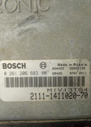 Блок управления ЭБУ ваз 2108-09-10-15