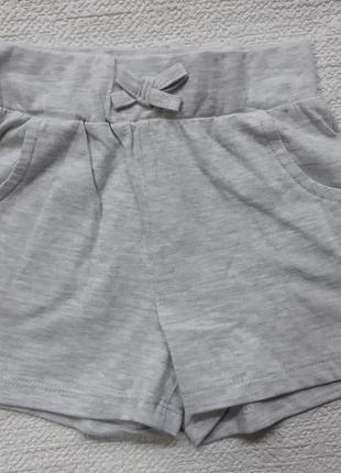 Однотонные шортики с карманами, от 1 до 2лет, george