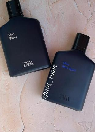 Мужские духи zara blue spirit/zara silver /парфюм /туалетна во...