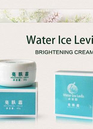Осветляющий крем для лица Water Ice Levin Brightening cream 40g