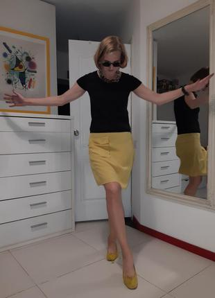 Шелковая юбка marni