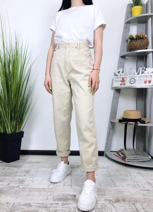Винтажные джинсы мом высокая посадка винтаж jam
