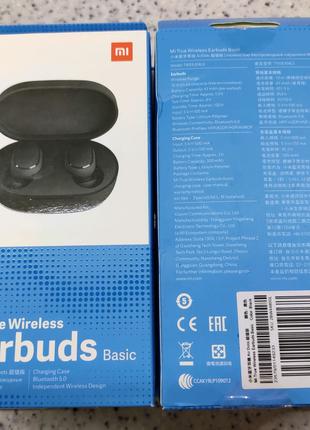 Оригинал! Xiaomi Redmi AirDots Earbuds блютуз наушники беспроводн