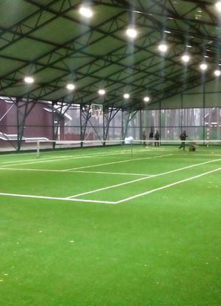 Искусственная трава. Мультиспорт. Для футбола, регби, тенниса.