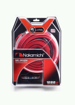 Провода для 4-х канального усилителя Nakamichi NK-WK24