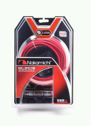 Провода для 2-х канального усилителя Nakamichi NK-WK110