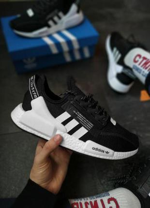 Adidas nmd black  ✰ мужские кроссовки ✰ черного цвета 😻