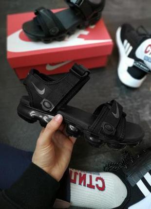 Nike sandal vapormax ✰ мужские босоножки ✰ сандалии черного цв...