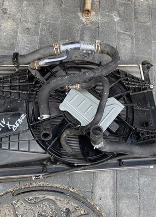 Комплект радиаторов + диффузор Honda Civic 4D Хонда цивик сивик 4