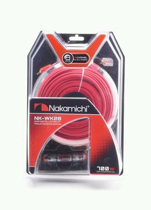 Провода для 4-х канального усилителя Nakamichi NK-WK28