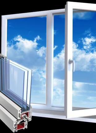 Металлопластиковые окна Борисполь,  район