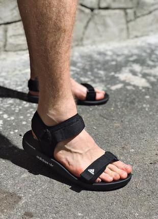 Adidas adilette sandal 3.0 ✰ мужские босоножки ✰ сандалит черн...