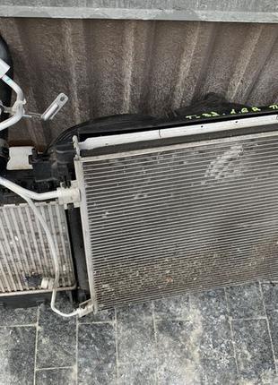 Радиатор основной кондиционера комплект Nissan X-Trail T32 Rogue