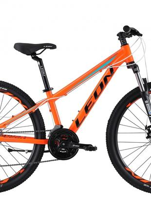Велосипед 26″ Leon SUPER JUNIOR AM 14G DD Al 2019 (оранжевый )