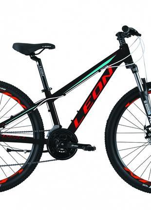 Велосипед 26″ Leon SUPER JUNIOR AM 14G DD Al 2019 (черно-красный