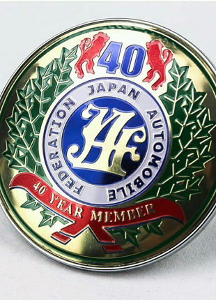 Эмблема JAF 40th Anniversary