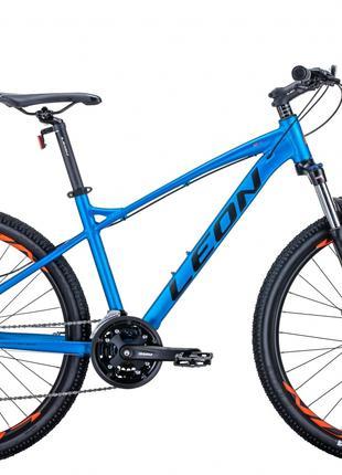 Велосипед 26″ Leon HT-90 2020 (синий с оранжевым)