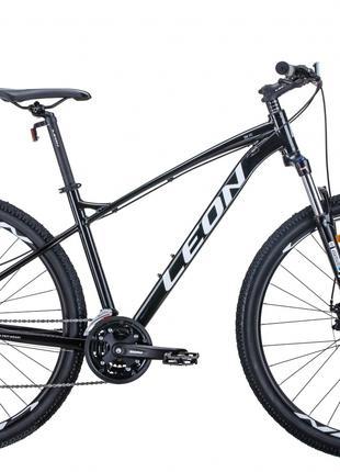 Велосипед 29″ Leon TN-90 2020 (чёрно-белый c серым)