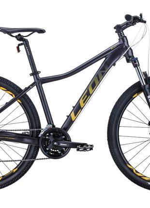 Велосипед 27.5″ Leon XC-LADY 2020 (антрацитовый с золотым)