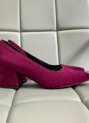 Нереально крутые туфли натуральный замш
