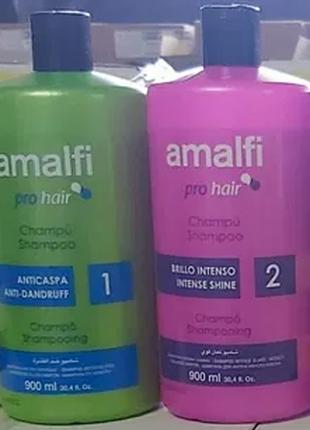 Шампунь для волос Испания 900 мл. Amalfi шампуні 0 біла - кондиці