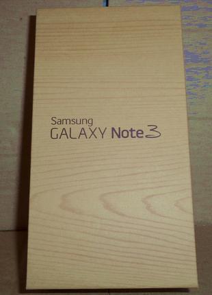 Раритет Samsung Galaxy Note 3 коробка стилус белый смартфон
