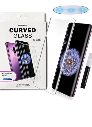 Защитное ультрафиолетовое UV стекло на Samsung Note 9 N960 Защитн