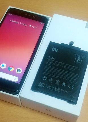 Xiaomi Redmi 4x 3/32 гб. С новой батареей