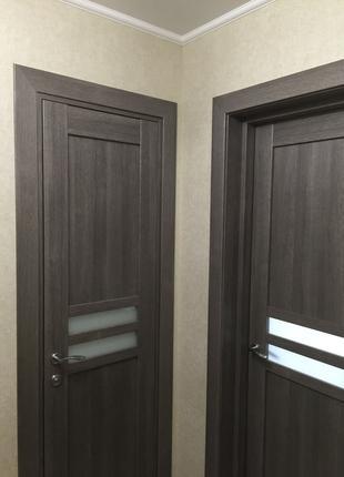 Монтаж установка межкомнатных дверей